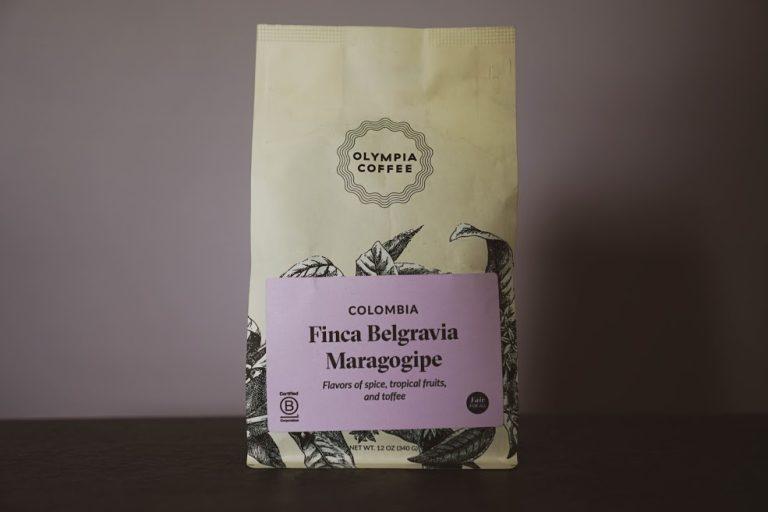 Olympia Coffee Roasting // Colombia Finca Belgravia Maragogipe