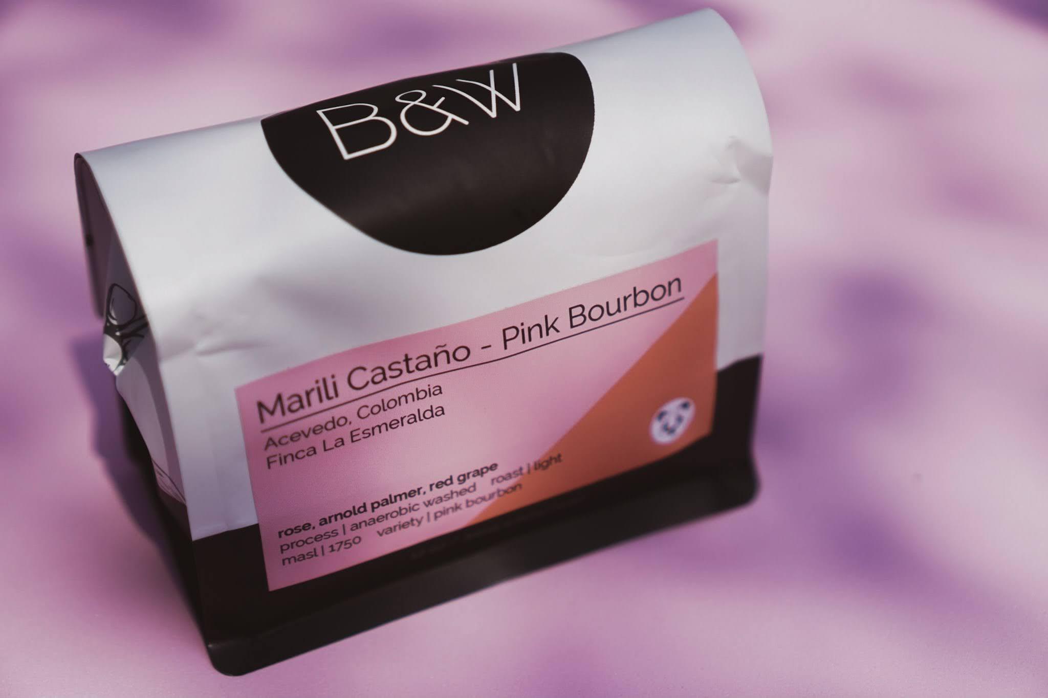 Black and White Coffee Roasters // Colombia Marili Castaño – Pink Bourbon