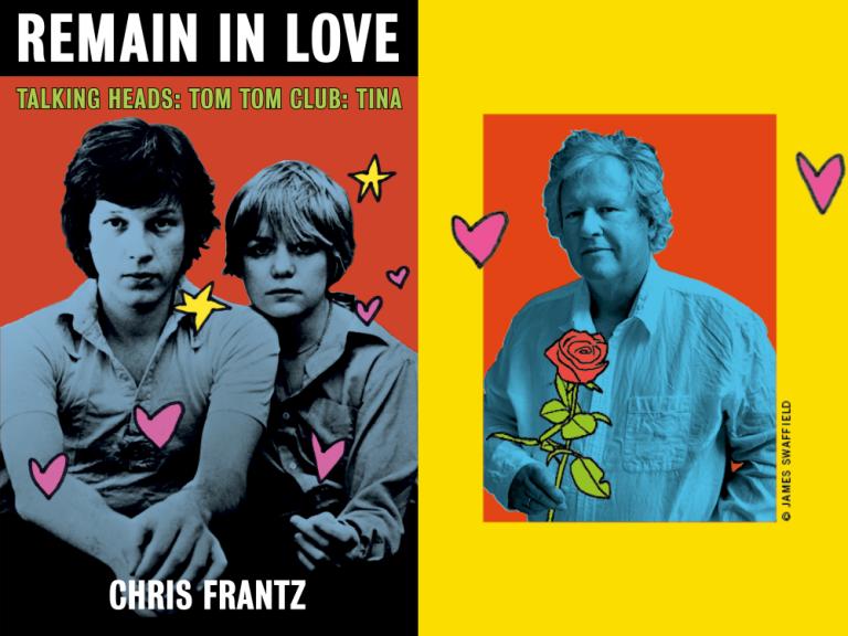 "Chris Frantz Details His Once in a Lifetime Career in New Memoir, ""Remain in Love"""