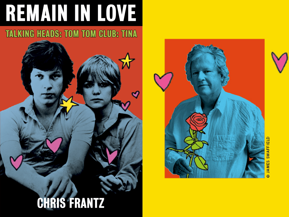 "Chris Frantz Details His Once in a Lifetime Career in New Memoir, ""Remain in Love"""