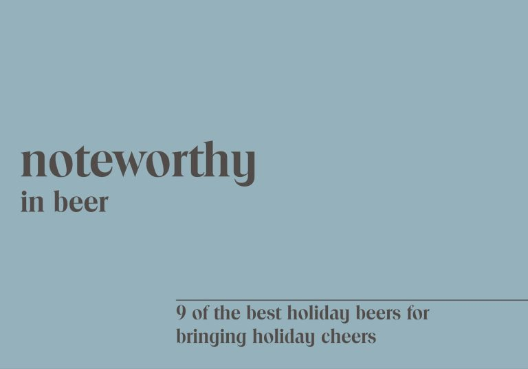 9 of the Best Holiday Beers for Bringing Holiday Cheers